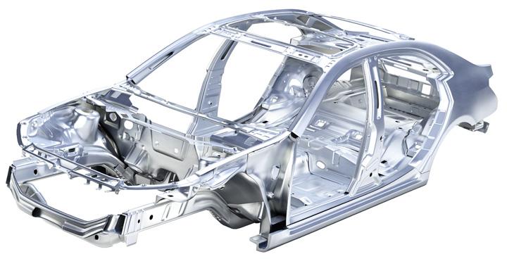 que es el marco de un auto